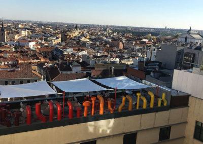 Terraza calle Gran Vía 2 – Madrid