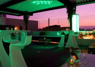 terraza noche