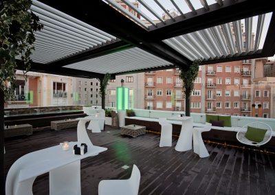 terraza para celebraciones